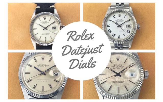Rolex Datejust Dials
